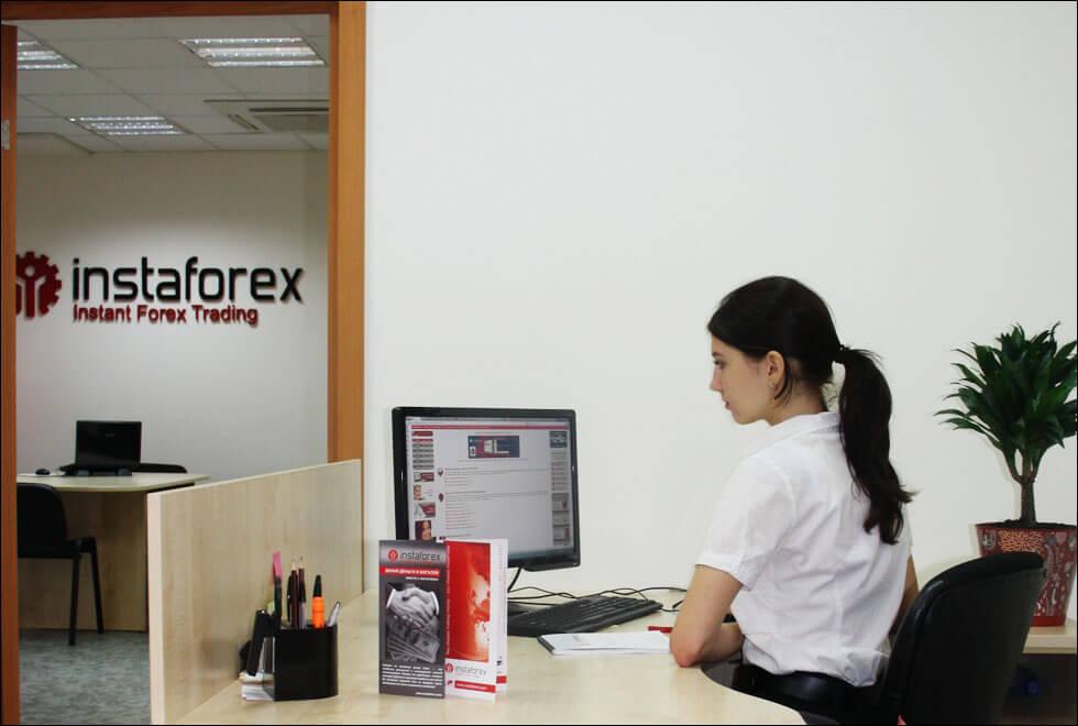 Работа в InstaForex
